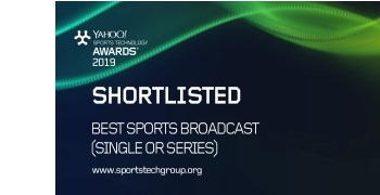 Pixellot Recognized on 2019 Yahoo Sports Technology Awards' Shortlist for Best Sports Broadcast
